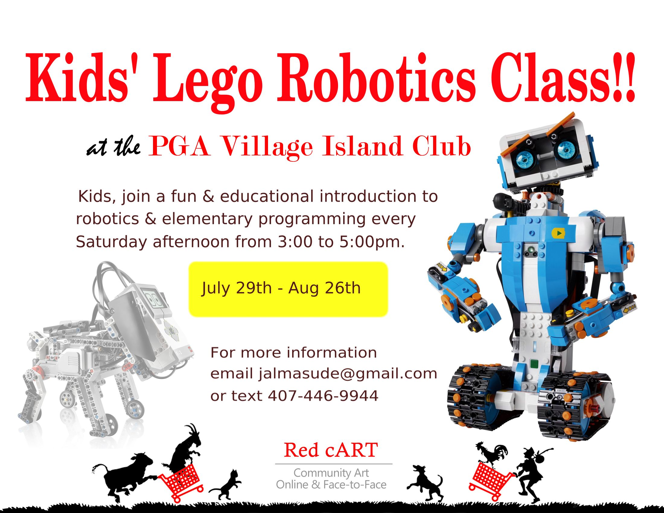 New Lego Robotics Class Is Starting July 29th Genius Institute For